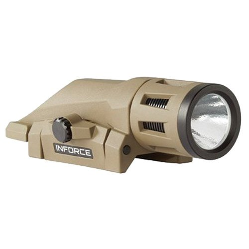 InForce W-06-2 400 Lumens Gen 2 Multi-Function Weapon Mounted Light, Flat Dark Earth by InForce