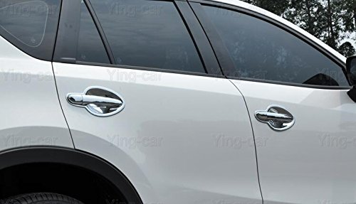 dont fit for Mazda CX-5 GS model Car Chrome Door Handle Cover and Cup Bowl combo Molding Cover Trim Emblems For Mazda CX-5 CX5 2016 2017 2018