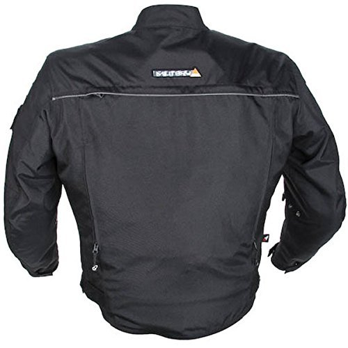 Joe Rocket Recon Military Spec Mens Black Textile Jacket - Medium
