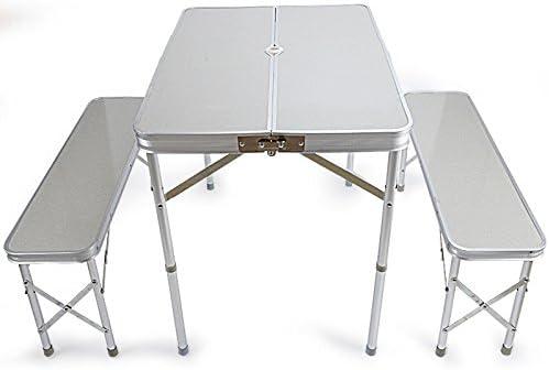 Folding table Mesa Plegable portátil al Aire Libre Sillas ...
