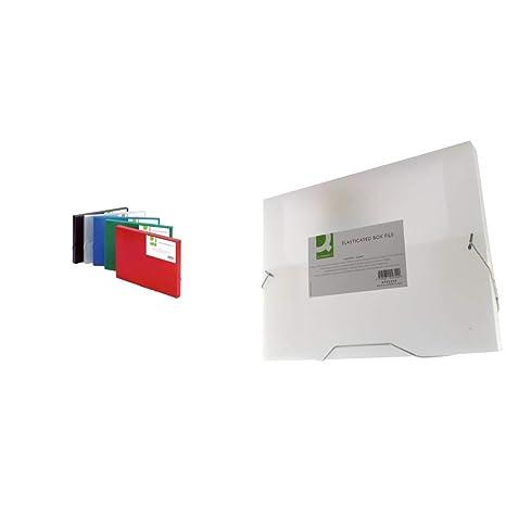 Q-Connect Heftbox A4 transparent KF02310