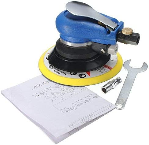 GUONING-L Sanding roll 6 Inch Air Random Orbital Palm Sander Sanding Pad Vacuum Polisher Abrasive