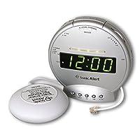 Sonic Alert SBT425ss digital Sonic Boom alarma vibrante ruidosa con señalizador de teléfono