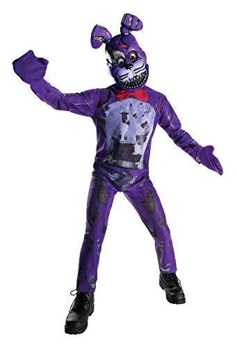Rubie's Costume Boys Five Nights at Freddy's Nightmare Bonnie The Rabbit Costume, Medium, Multicolor