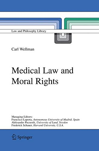 Medical Law and Moral Rights (Law and Philosophy Library) by Brand: Springer