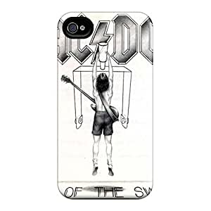 Iphone 4/4s TXH7142Muiu Unique Design Stylish Ac Dc Band Pictures Shock Absorption Hard Phone Case -SherriFakhry