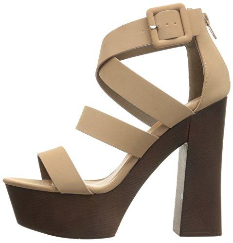 Sandal Platform 20 Women's Framey Taupe Qupid qHwYP1x