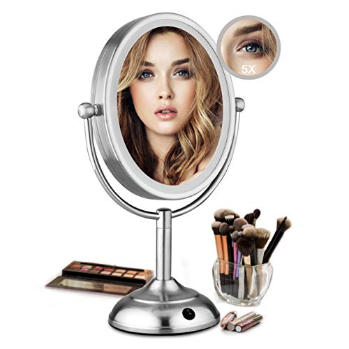 Lighted Makeup Mirror - 8
