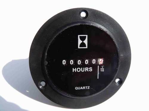 Hour Meters For Electrical Equipment : Surface mount solid state hour meter import it all