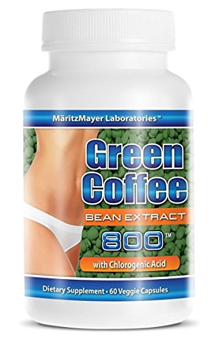 Pure Green Coffee Extract 800 mg Diet Weight Loss Pill 60 Capsules Per Bottle 1 Bottle