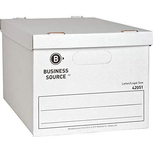 Business Source Economy Storage Box with Lid (42051)
