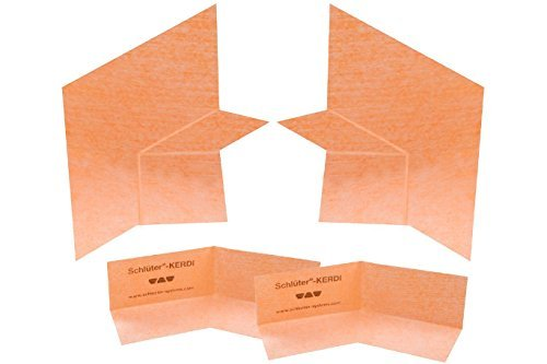 Schluter KERS-B - Neo-Angle Corner Membrane Kit , Model: KERSB135K (Kits Shower Neo Angle)