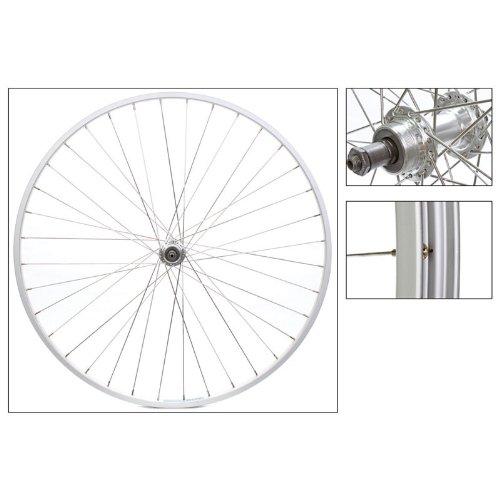 Wheel Master Rear Wheel 700 x 25, WEI AS23 x , QR Alloy FW 5-7sp Silver Hub, 14g SS Spokes, 36H ()