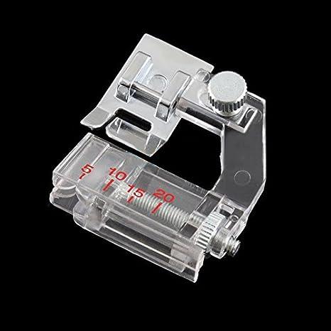 wildlead nuevo mini Casa Bias Binder ajustables pies prensatelas para máquinas de coser: Amazon.es: Hogar