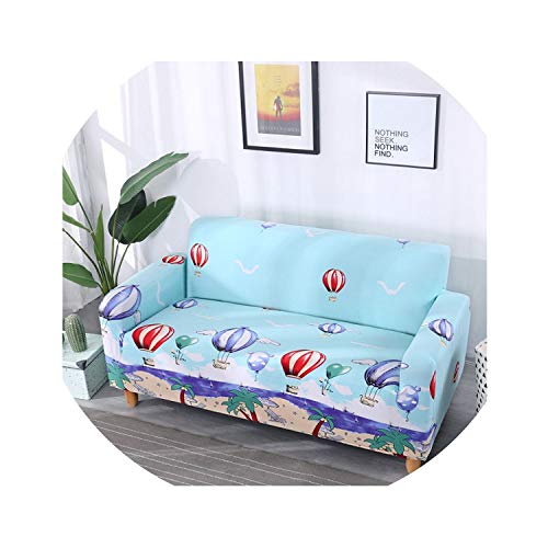 Summer Style Tight Wrap Sofa Slipcover All-Inclusive Slip-Resistant Elastic Sofa Towel Section 1/2/3/4 Sofa Cover,as picture2,4 Seats Sofa Cover
