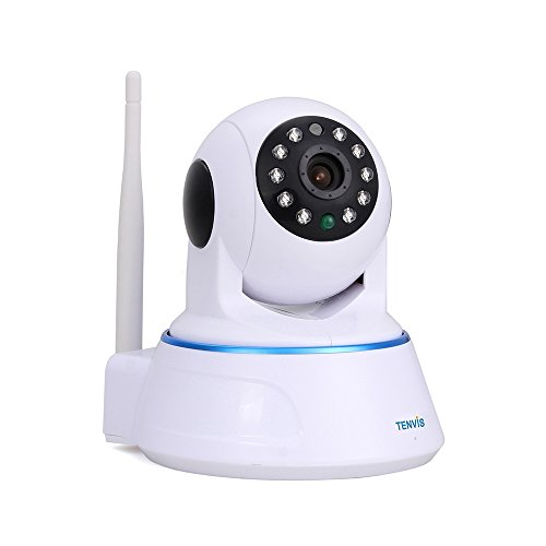 Smart Wireless IP Camera, TENVIS 720P HD Surveillance Network Security Camera, Baby Monitor, Night Vision, - Camera Cam Network Ip