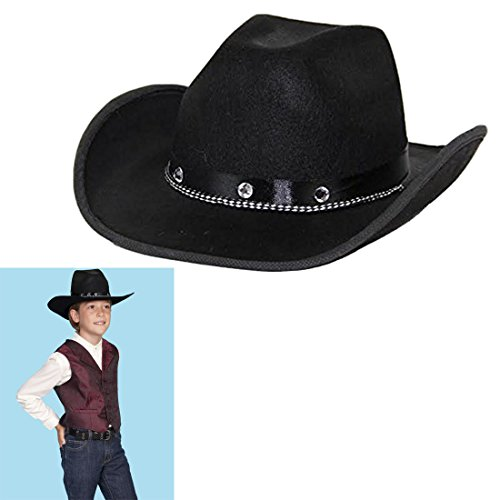 Customized Money Halloween Costumes (Halloween Hat - Toy Cubby Black Upscale Cowboy Costume Hat. Go Casual.)