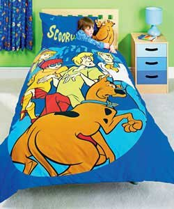 scooby doo cuddle buddie with single duvet cover set - Scoobydoo Bedding