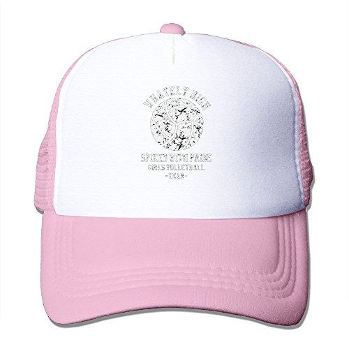 Volleyball Spike Pride Mesh Adjustable Sports Snapback Hats