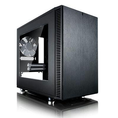 Fractal Design Cases FD-CA-DEF-NANO-S-BK-W by Fractal Design