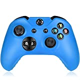 Flexible Silicone Protective Case skin For Xbox One Game Controller Console(Light Blue) For Sale