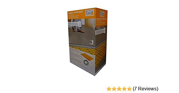 Amazon.com: Schluter DITRA HEAT DHEKRT12056 37.5 SF120V KIT Includes Touchscreen Programmable Thermostat,Heating cable, Ditra Heat sheets, 2 Floor sensors: ...