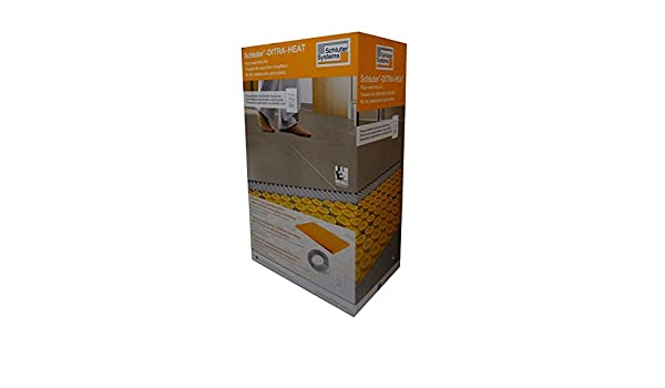 Schluter DITRA Heat Kit DHEKRTW12056 With WiFi Touchscreen Thermostat - - Amazon.com