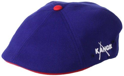 (Kangol Championship 504 Cap Hat, navy/cardinal, S/M)