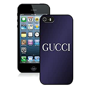 Popular Designed Phone Case For iPhone 5S With Gucci 26 Black Phone Case