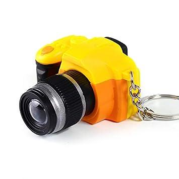 YYCOOL Encanto llavero llavero mini cámara réflex digital modelado ...