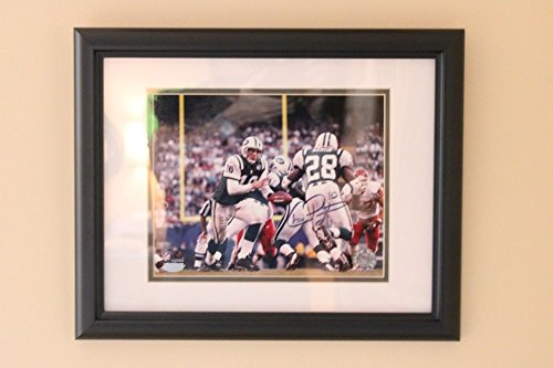 Pennington Autograph (Framed Signed Chad Pennington 8x10 Photo Steiner COA Framed)