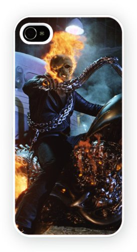 Ghost Rider Art Design, iPhone 5C, Etui de téléphone mobile - encre brillant impression