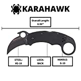 Spyderco Karahawk Specialty Folding Knife with