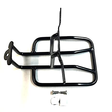 Htt Motorcycle Black Steel Rear Fender Rack Plated Luge Shelf For H D Sportster 1100 1000