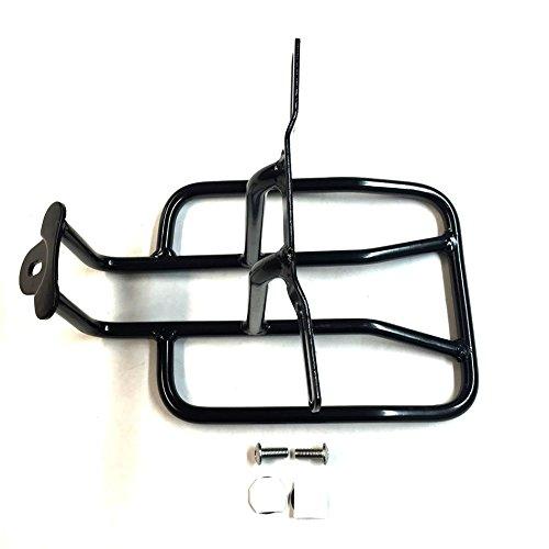 Steel Rear Fender Rack Plated Luggage Shelf For For H-D Sportster 1100 1000 Roadster 1200 Roadster Nightster 883 Iron SuperLow ()