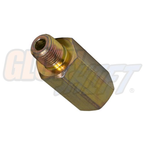 GlowShift Transmission Test Port Thread Extender for 1994-2007.5 Dodge Ram 48RE Automatic Transmission