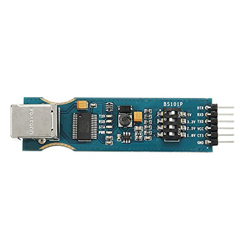 MYAMIA Bs101P Ft232Rl Module USB Serial Port Uart 1.8V 2.5V 3.3V 5V 4 en 1