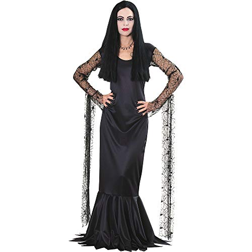 Rubie's Costume Co Women's Morticia Addams Costume Small, Multicolor]()