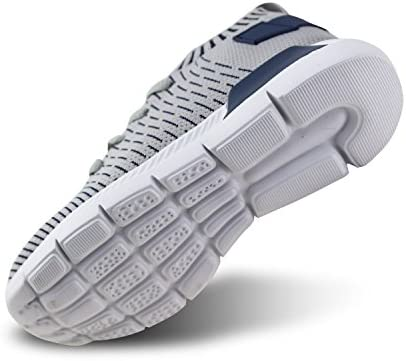 JABASIC Kids Lightweight Knit Shoes Boys Girls Slip On Walking