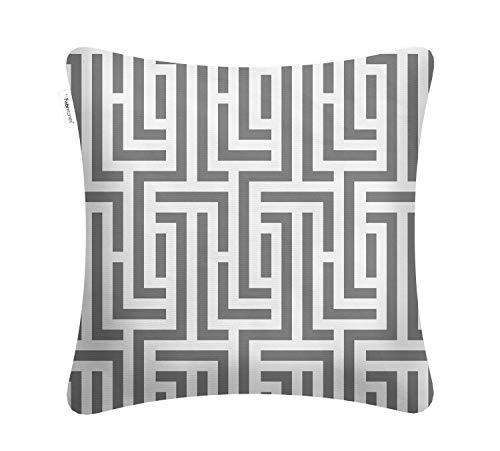 Maze Pattern - Fabritones Decorative Indoor Outdoor Accent Pillows