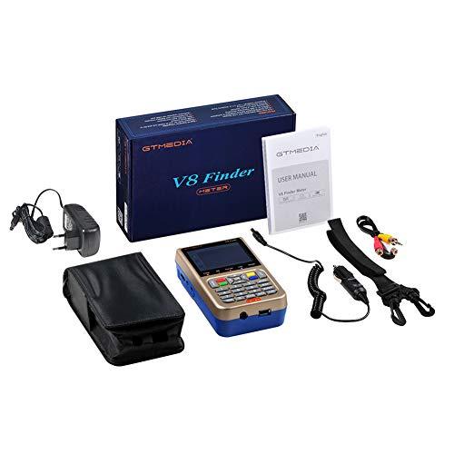 Ocamo GTMEDIA V8 Finder Meter(V-73HD) DVB-S2/S2X Digital Satellite Finder High Definition Sat Finder Satellite Meter US Plug