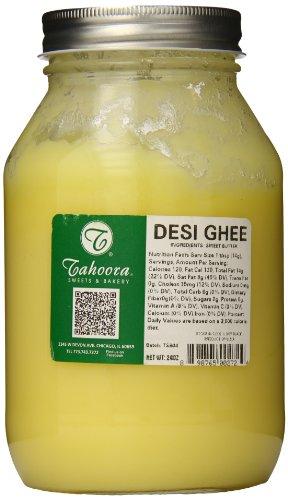 Tahoora Desi Pure Ghee Clarified Butter, 24 Ounce by Tahoora