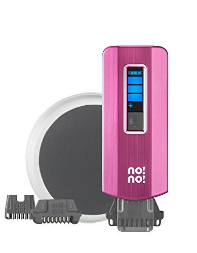 no!no! PRO Hair Removal System for Lasting Results - Basic Kit (Pink) (No No Hair Removal As Seen On Tv)