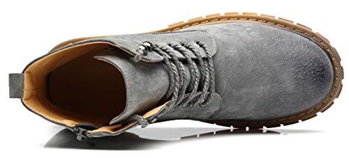 Nxy Zapatos Hombres Cuero Cremallera Los Botas Botines Moda Casuales ZqBZ8YTHw