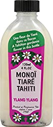 Coconut Oil Ylang Ylang Monoi Tiare Cosmetics 4 oz Oil