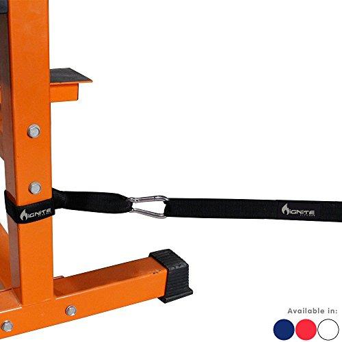 Ignite Fitness Anchor Strap Kit for Battle Rope Training (Gray)