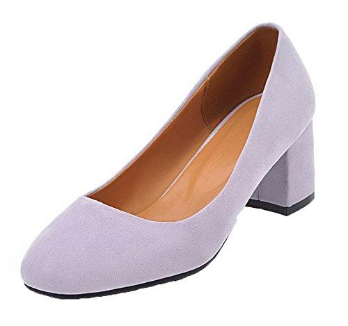 À Tire Violet Femme Légeres Talon Aalardom Chaussures Correct 7gpwzExqx5
