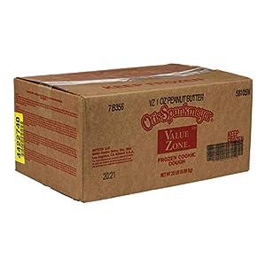 Otis Spunkmeyer Value Zone Peanut Butter Cookies Dough, 1 Ounce — 320 per case.