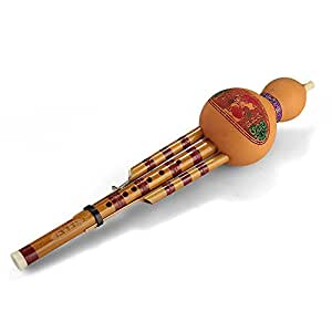 Flauta de Hulusi Instrumento Viento Étnico China Bb con