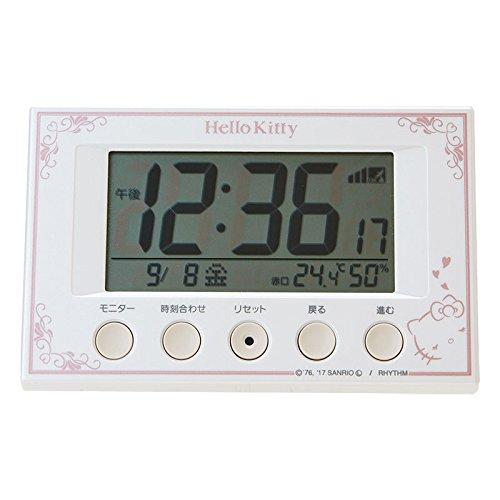Sanrio Hello Kitty digital radio alarm clock From Japan New by Sanrio (Image #5)